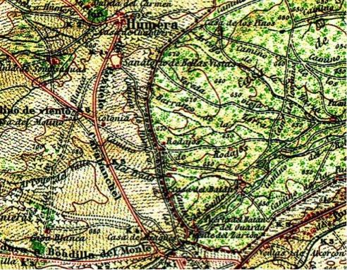 Mapa Nacional 1916-1944